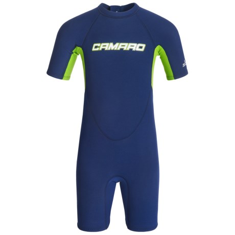 Camaro Aquatic Shorty Wetsuit - 2mm (For Little and Big Kids)