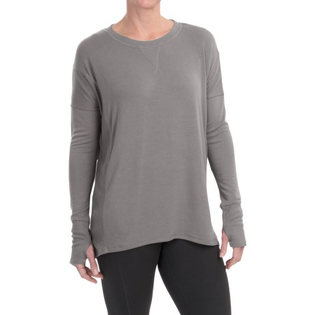 CG Cable & Gauge Oversize Shirt - Long Sleeve (For Women)