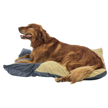 Petmate Appliqued Pillow Dog Bed