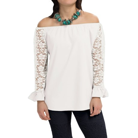 RU Apparel Emmylou Blouse - Long Sleeve (For Women)