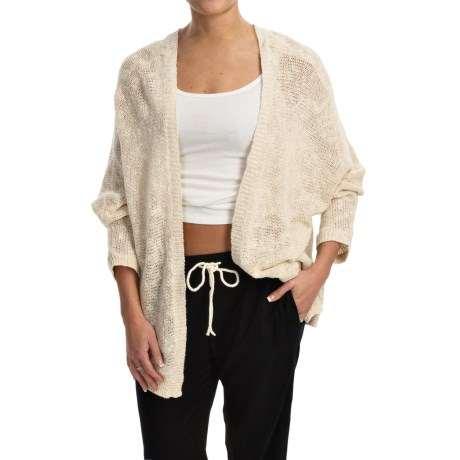 Roxy Sunset Cardi Sweater - Open Front (For Women)