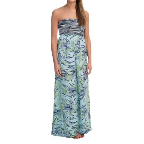 Roxy Savage Maxi Dress - Strapless (For Women)