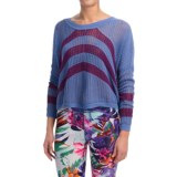 Roxy Rocky Point Stripe Crop Sweater (For Women)