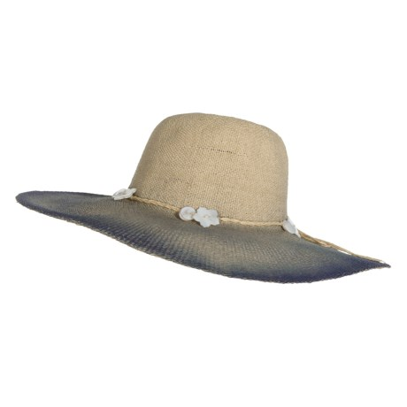 Scala Painted Highlights Sun Hat - Toyo Straw (For Women)