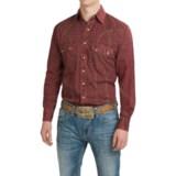 Resistol University Brazen Paisley Shirt - Snap Front, Long Sleeve (For Men)