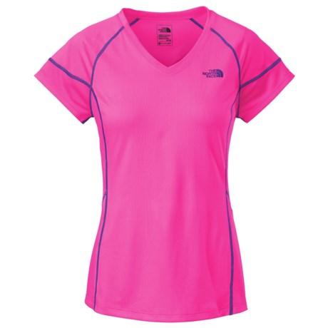 The North Face Reactor V-Neck Shirt - Short Sleeve (For Women)