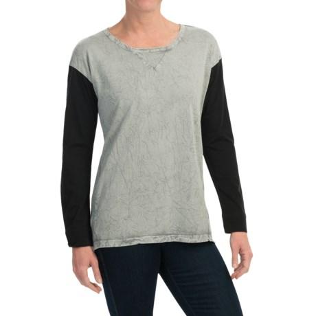 Spense Knits Crew Neck Shirt - Long Sleeve (For Women)