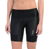 "Zoot Sports High-Performance Tri Shorts - UPF 50+, 8"" (For Women)"