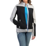Cruel Girl Color-Block Hybrid Jacket (For Women)