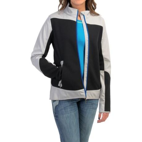Cruel Girl Color-Block Hybrid Jacket (For Women)