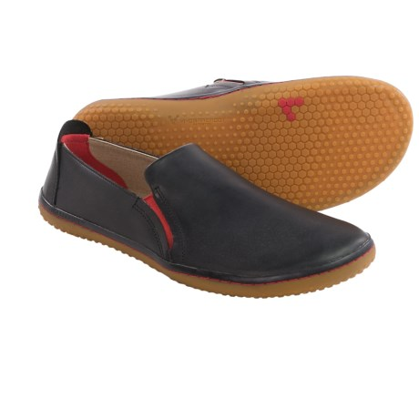 Vivobarefoot Mata Leather Shoes - Minimalist, Slip-Ons (For Men)
