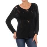 William Rast Open Knit Sweater (For Women)