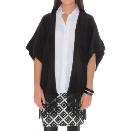 Natori Solid Stretch Jacket (For Women)
