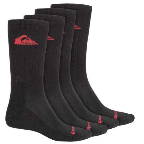 Quiksilver Casual Socks - 4-Pack, Crew (For Men)