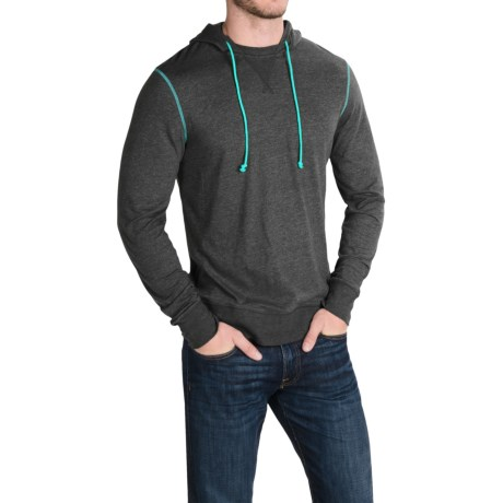 Life is good® Sport Hoodie T-Shirt - Slim Fit, Long Sleeve (For Men)