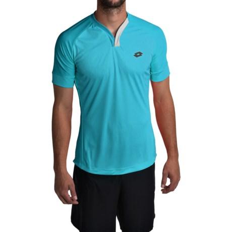 Lotto Carter Shirt - V-Neck, Short Sleeve (For Men)