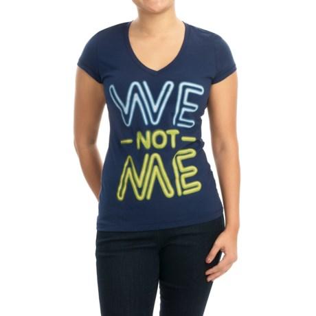 Life is good® Newbury T-Shirt - V-Neck, Short Sleeve (For Women)