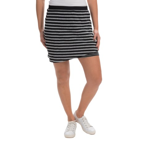 Life is good® Striped Faux-Wrap Skirt (For Women)