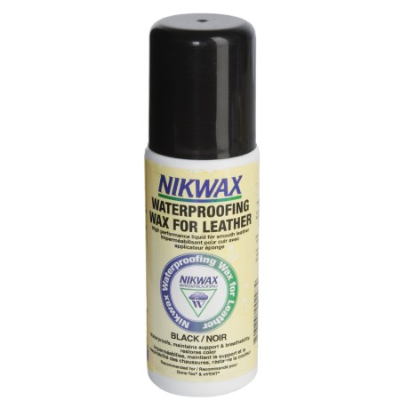 Nikwax Waterproofing Wax for Leather - Black