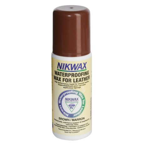 Nikwax Aqueous Wax - Brown, 4.2 fl.oz.