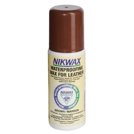 Nikwax Aqueous Wax - Brown, 4.2 fl.oz.