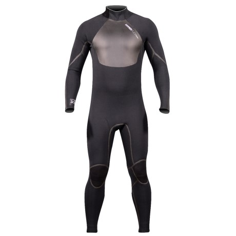 Hyperflex Amp 3 Back Zip Full Wetsuit - 4/3mm (For Men)