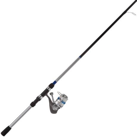 Okuma Fishing Tackle Cascade Spinning Rod and Reel Combo - 2-Piece, 6'