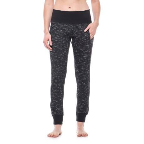 Vogo High-Waist Zip-Pocket Joggers (For Women)