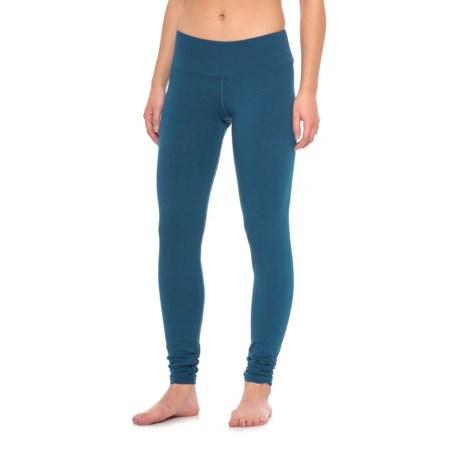Earth Yoga Flow Leggings - Organic Cotton (For Women)