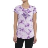 Earth Yoga Shining Star T-Shirt - Organic Cotton, Short Sleeve (For Women)