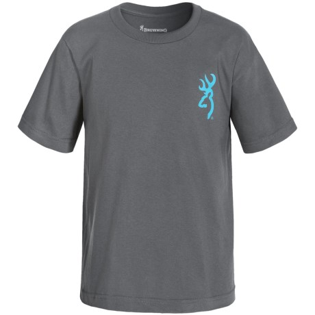 Browning Printed T-Shirt - Short Sleeve (For Little and Big Boys)
