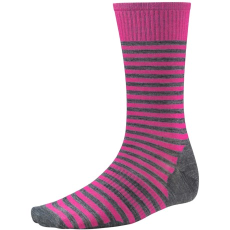 SmartWool Stria Socks - Merino Wool, Crew (For Men)