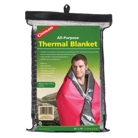 "Coghlan's Thermal-Reflective Blanket - 50x79"""
