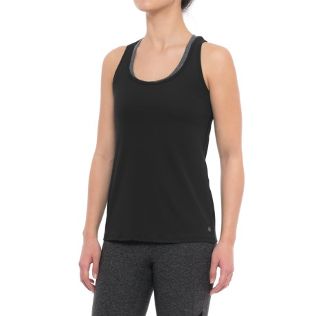 Yogalicious Twist-Back Tank Top (For Women)