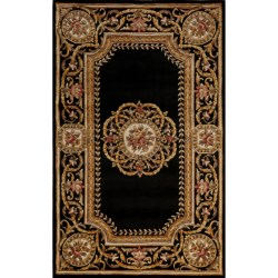 Momeni Harmony Medallion Wool Area Rug - 8x11'
