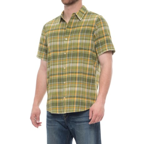 Toad&Co Coolant Shirt - Organic Cotton, Short Sleeve (For Men)