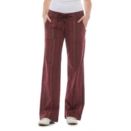 prAna Steph Wide-Legged Pants - Linen-Organic Cotton (For Women)