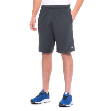 Layer 8 Heathered Knit Training Shorts (For Men)