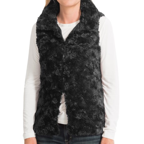 dylan Silky Faux-Fur Vest (For Women)