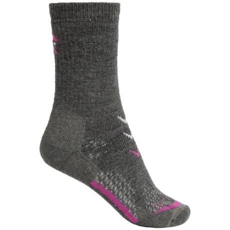 Lorpen T3 Midweight Hiker Socks - Merino Wool, Crew (For Women)