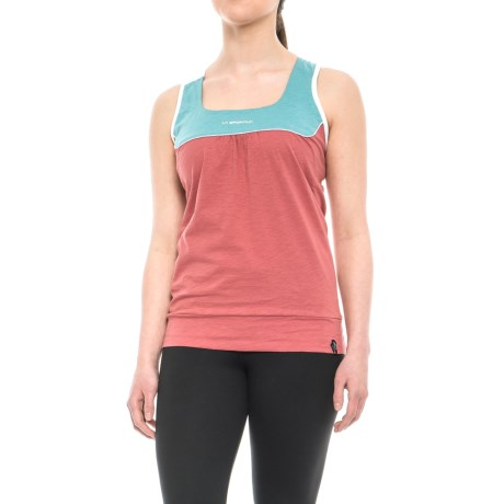 La Sportiva Momentum Tank Top - Organic Cotton, Racerback (For Women)