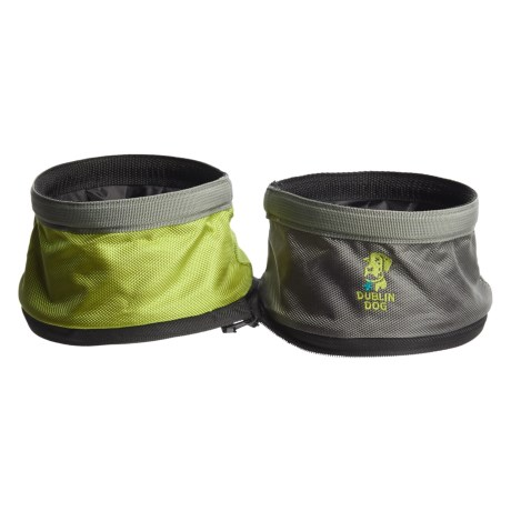 Dublin Dog Double-Sided Travel Dog Bowl - Waterproof