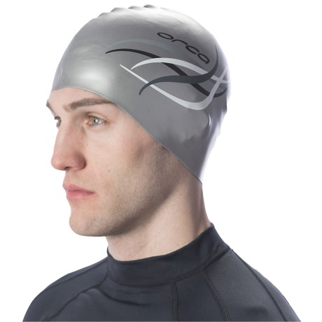 Orca Silicone Swim Cap (For Men and Women)