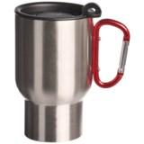 AGS Carabiner Stainless Steel Travel Mug - 14 fl.oz.
