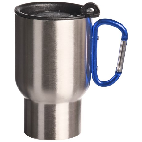AGS Carabiner Stainless Steel Travel Mug - 14 fl.oz.