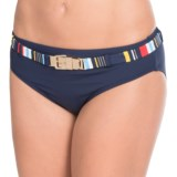 Captiva Peaceful Tropic Belted Bikini Bottoms (For Women)