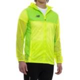 New Balance Tech Training Rain Jacket - Full Zip (For Men)