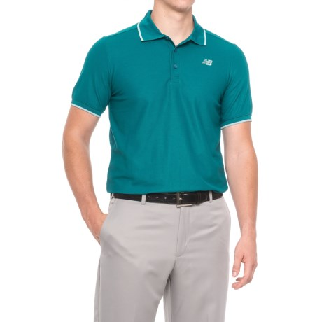 New Balance Challenger Classic Polo Shirt - Short Sleeve (For Men)