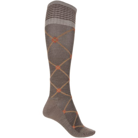 Sockwell Elevation Compression Socks - Merino Wool, Over the Calf (For Women)