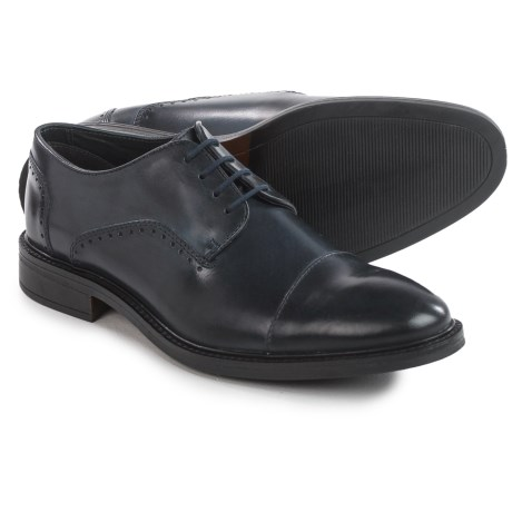 Joseph Abboud Barton Oxford Shoes - Leather, Cap Toe (For Men)